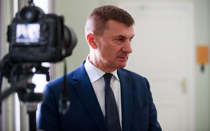 Andrus Ansip (Reform/ALDE).