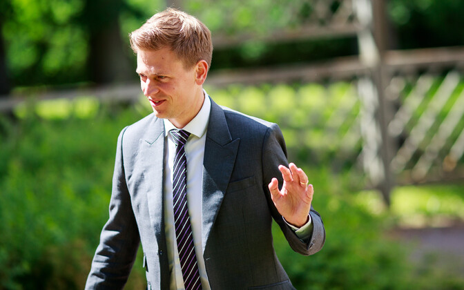 Kaspar Korjus, outgoing managing director of Estonia's e-Residency programme.