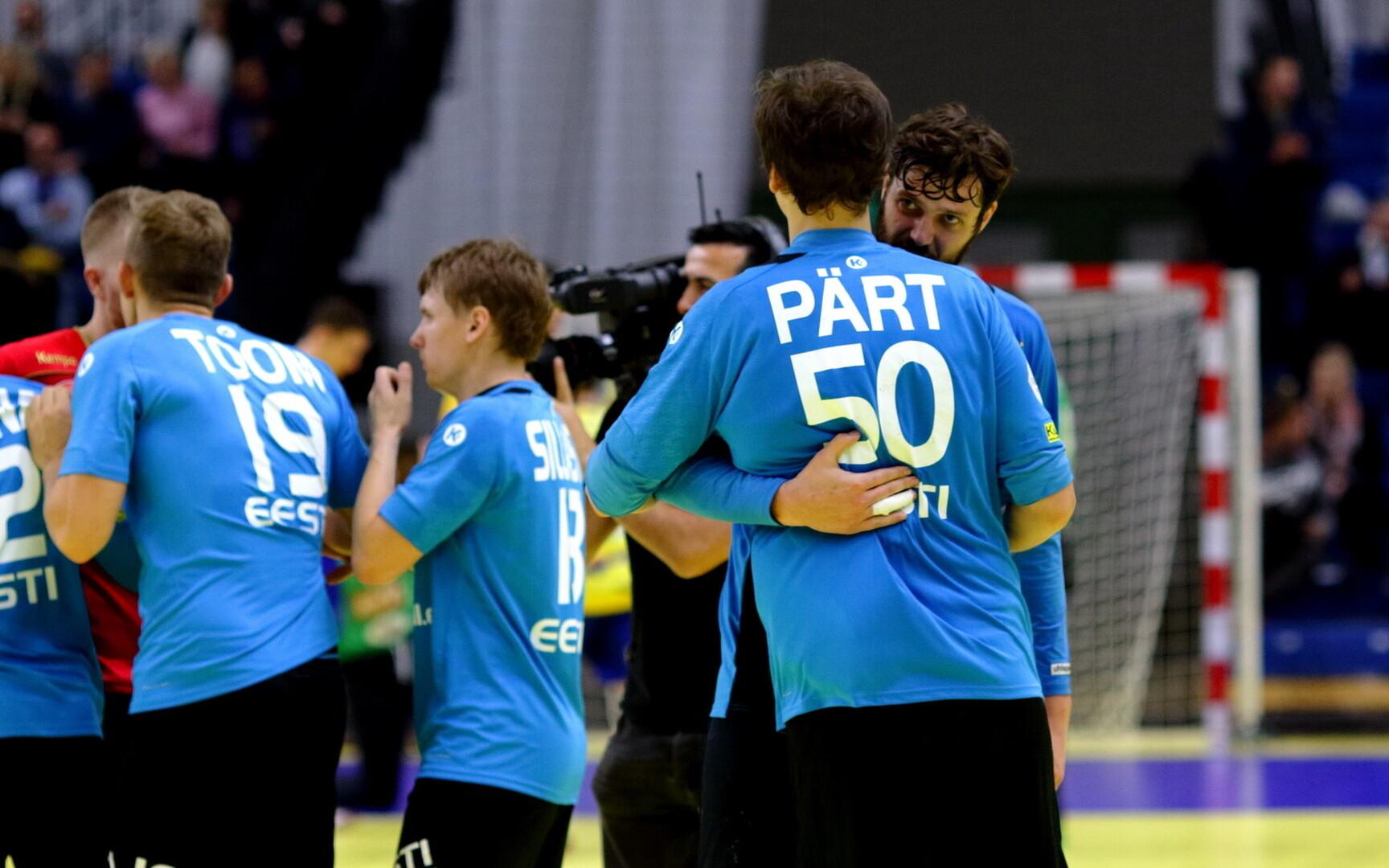 77c0d176c76 Eesti käsipallikoondis sai Thomas Sivertssoni näol tituleeritud ...