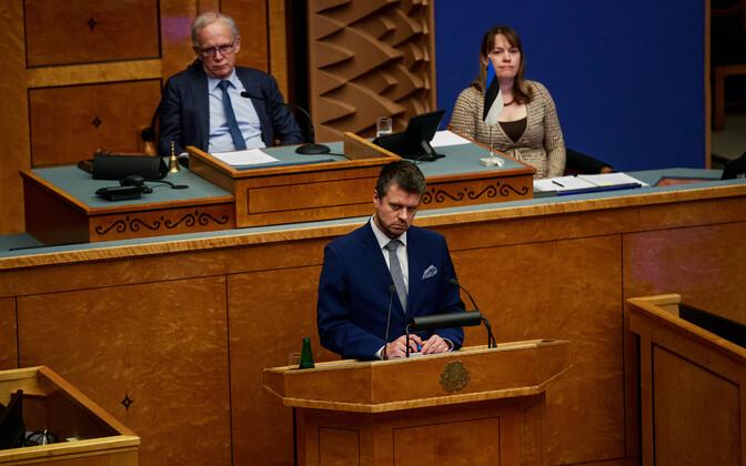 Minister of Justice Urmas Reinsalu (Pro Patria).