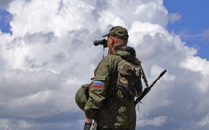 Luganski Kremli-meelne võitleja.