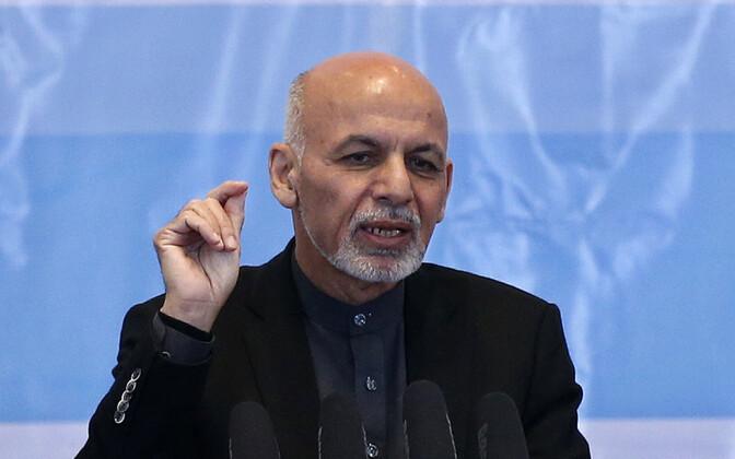 Afganistani president Ashraf Ghani.