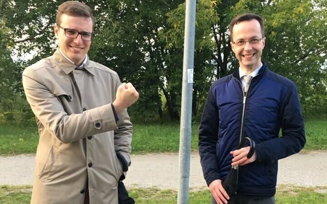 Сергей Метлев и Евгений Криштафович считают решение российских властей признанием своих заслуг.