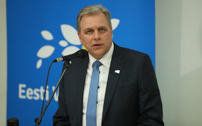 Vabaerakonna esimees Andres Herkel.