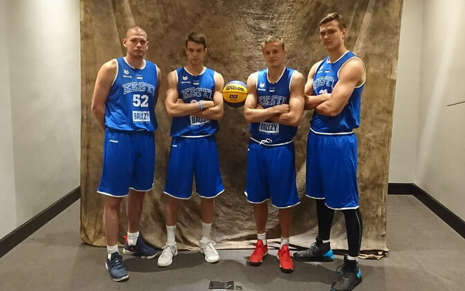 Eesti 3x3 korvpallikoondis.