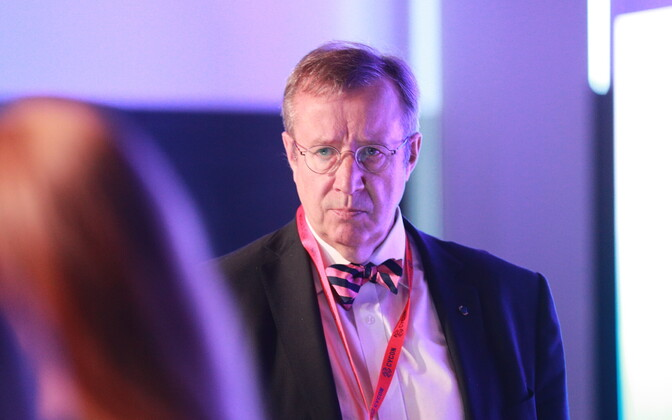 Former President of Estonia Toomas Hendrik Ilves.