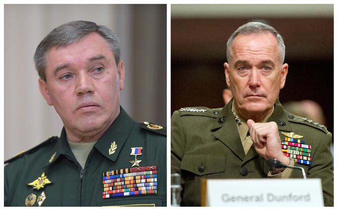 Генералы Валерий Герасимов и Джозеф Данфорд встретятся в Финляндии.