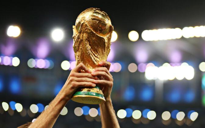 Jalgpalli MM-i võidukarikas.