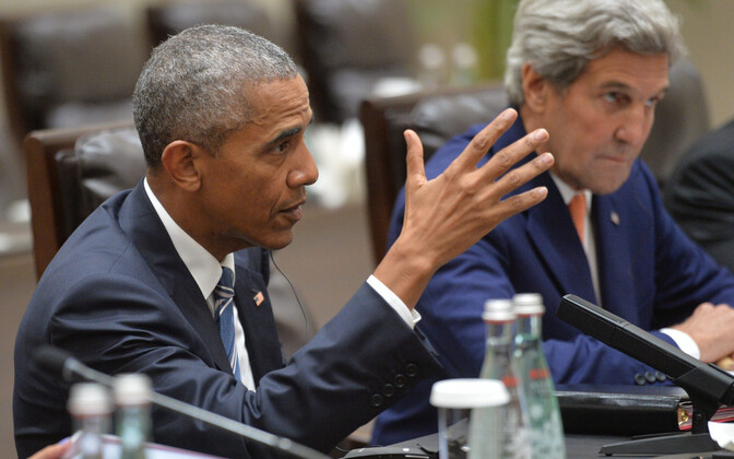 USA president Barack Obama ja välisminister John Kerry 2016. aastal.