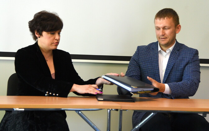 Наталья Песочинская и Максим Ильин