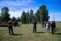 The remains of German soldiers uncovered during excavation work in Maarjamäe were reburied at Maarjamäe German Military Cemetery on Friday. 8 June, 2018.