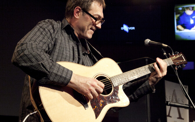 Fingerstyle kitarri iidol Don Alder