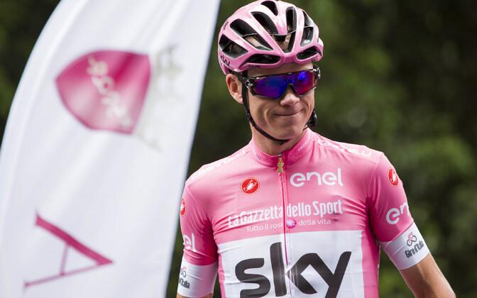 Chris Froome võitis kevadel Itaalia suurtuuri Giro d'Italia