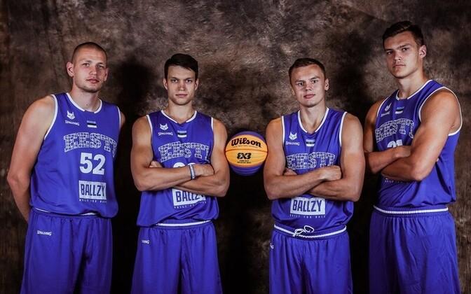 Eesti 3x3 korvpallikoondis