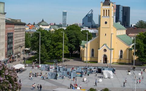 Tallinn Art Week Vabaduse väljakul