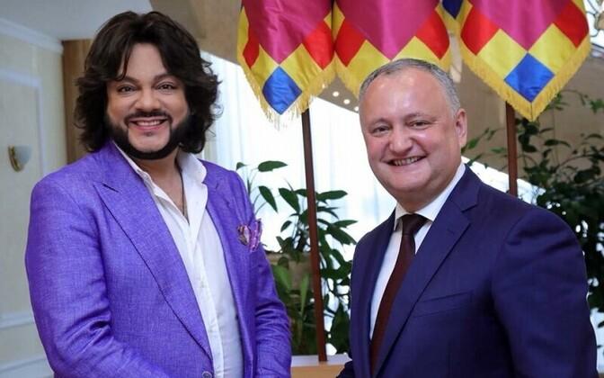 Филипп Киркоров и Игорь Додон.