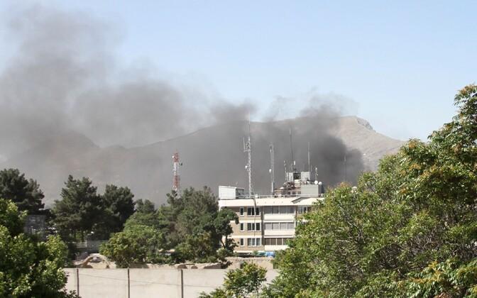 Взрыв в Кабуле. Иллюстративная фотография.