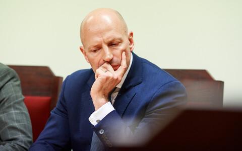Paavo Pettai in court.
