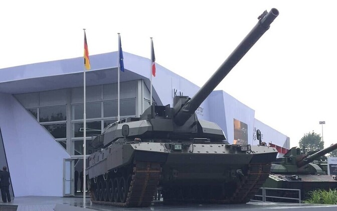 EMBT (Euro Main Battle Tank).