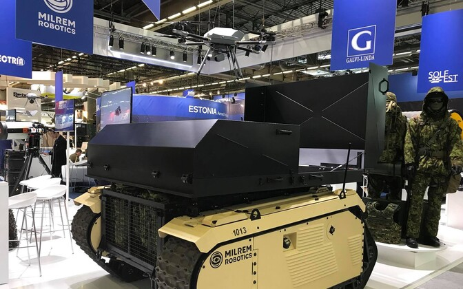 Milrem Robotics in Paris for Eurosatory 2018. 11 June, 2018.