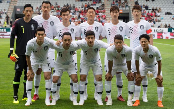Lõuna-Korea jalgpallikoondis
