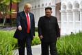 Trump ja Kim pärast lõunasööki.