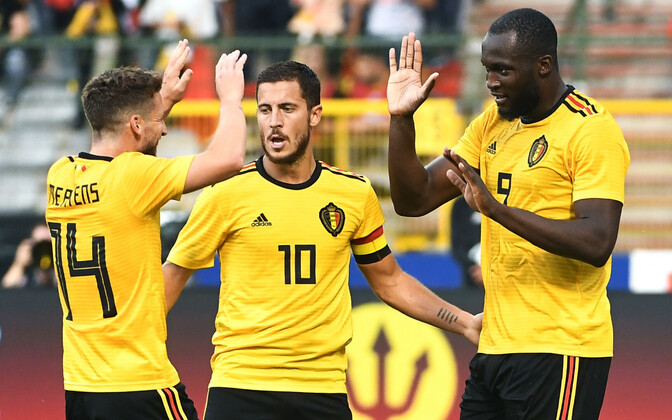 Belgia jalgpallikoondis