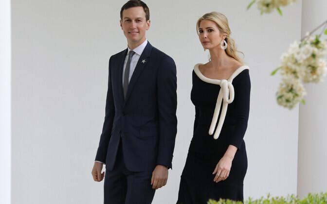 Jared Kushner ja Ivanka Trump.