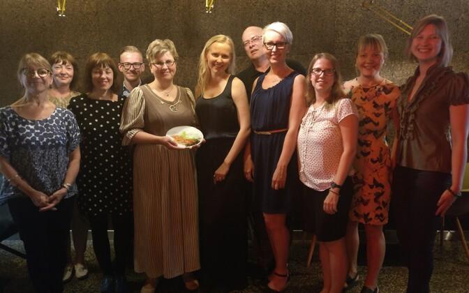 Annika Laats Eesti Seksuaaltervise Liidu esindajatega