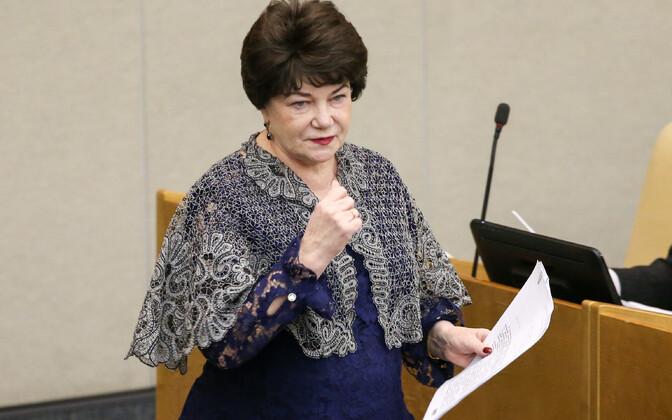 Riigiduuma saadik Tamara Pletneva.