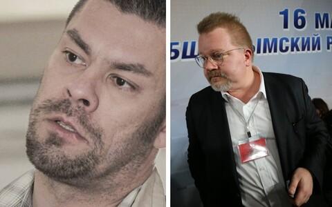 Илья Яницкин (слева) и Йохан Бекман.