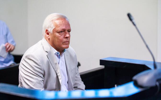 Тоомас Ристлаан в суде.