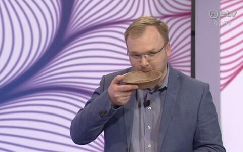 Reimo Sildvee maitses söödavat taldrikut