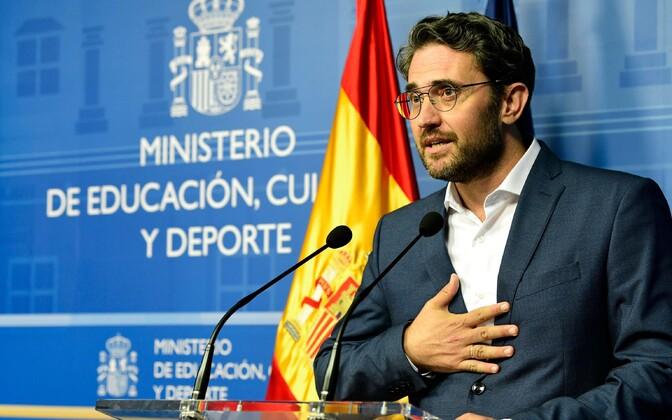 Maxim Huerta jõudis olla ministriametis vaid nädal aega.
