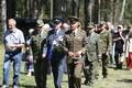Küüditatud Eesti ohvitseride mälestustseremoonia Värskas.