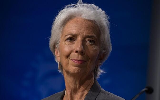 IMF-i direktor Christine Lagarde.