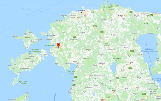 An earthquake hit near Lihula for the third time this year already.