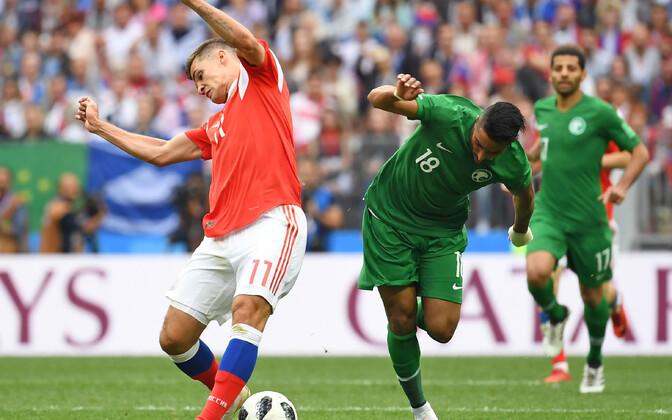 Футболистов Саудовской Аравии накажут за проигрыш России.