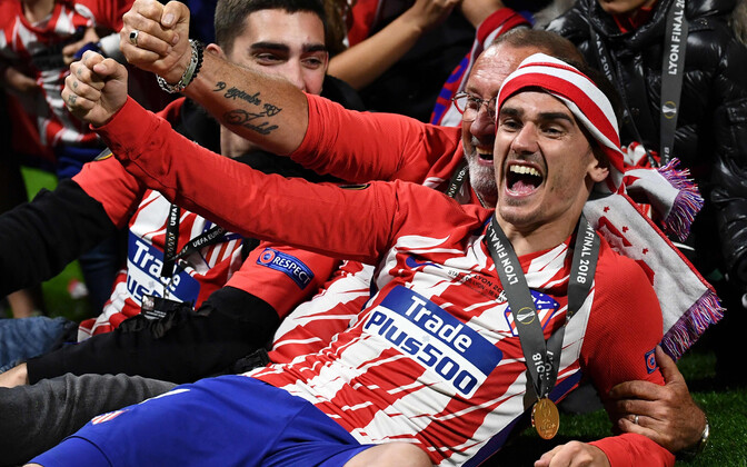 Antoine Griezmann võitis tänavu Atletico ridades Euroopa liiga.