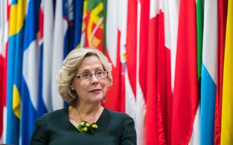 Euroopa Komisjoni teaduse ja peadirektoraadi asepeadirektor Signe Ratso.