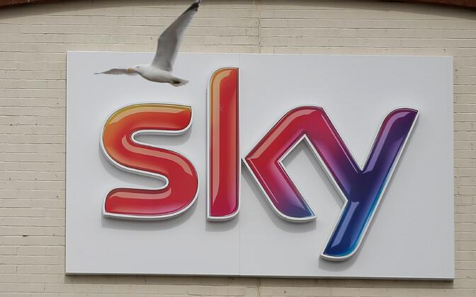 Sky logo.