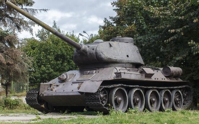 Танк Т-34. Иллюстративная фотография.