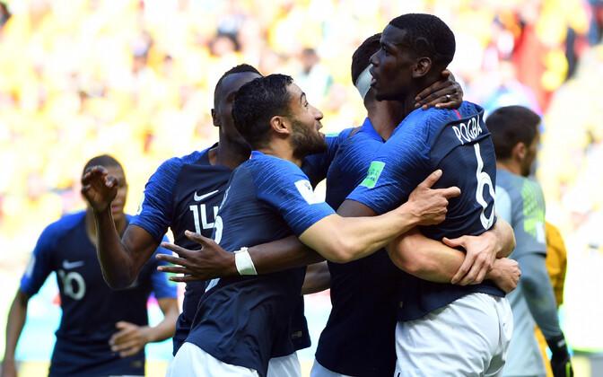 Prantsusmaa jalgpallikoondis.