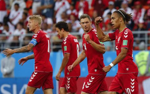 Датчане в первом матче ЧМ-218 одержали победу.