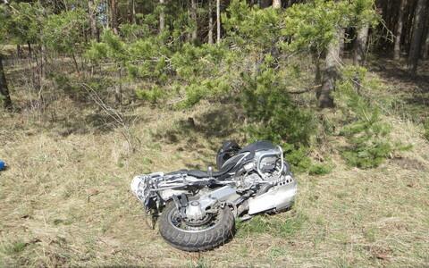 С наступлением лета ДТП с мотоциклистами участились.