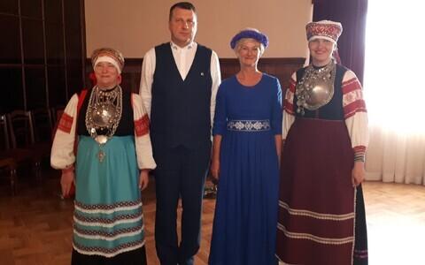 Elvi Nassar ja Annela Laaneots võtsid osa Läti presidendi korraldatud vastuvõtust.