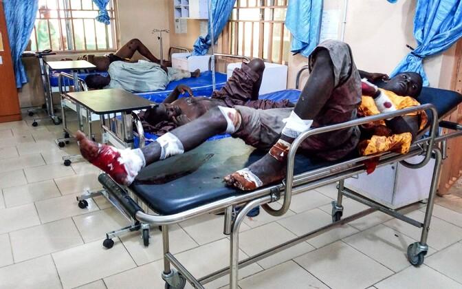 Kannatanud pärast arvatavat Boko Harami rünnakut.