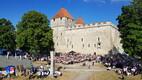 Meestelaulu selts andis Kuressaares juubelikontserdi.