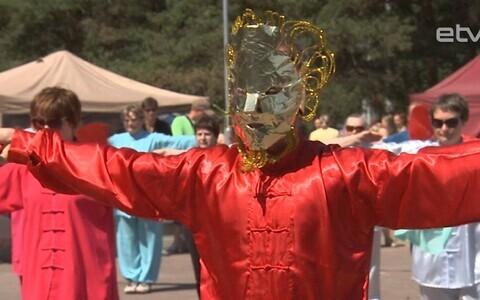 Фестиваль в Мустамяэ.
