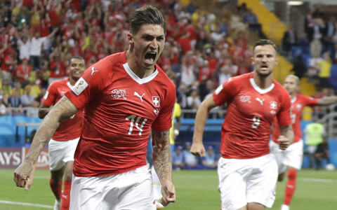 Brasiilia - Šveits.